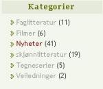 velge kategori